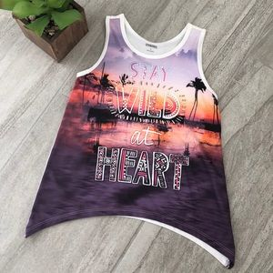 "Gymboree ""Stay Wild at Heart"" Tank"